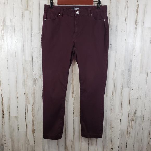 Buffalo David Bitton Denim - Buffolo David Bitton Womens Pants Purple Five Pkt